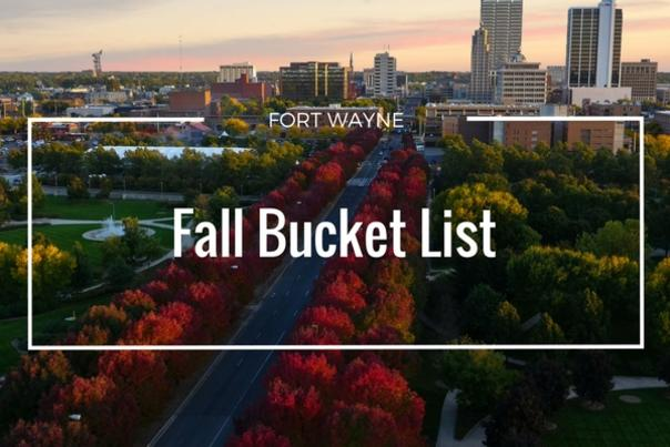 Fort Wayne Fall Bucket List - Cover Photo 2016