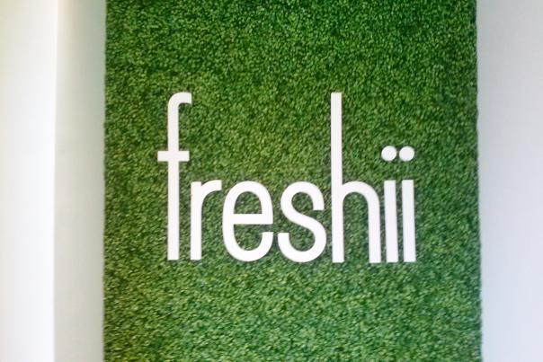 Freshii's Sign