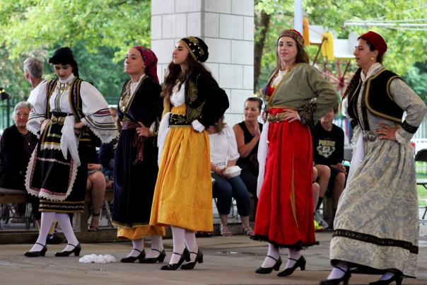 Dancing at GreekFest
