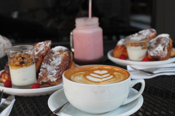latte art - fortezza coffee