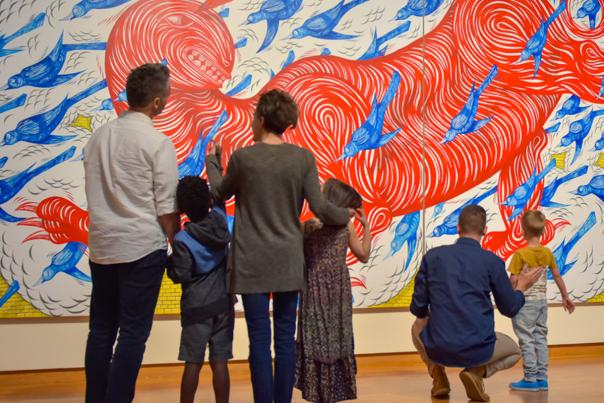 600x450 Families at the Fort Wayne Museum of Art