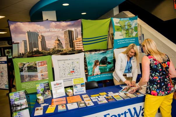 Visit Fort Wayne - Convention Sales Booth