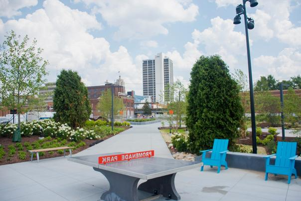 Promenade Park Preview of Skyline