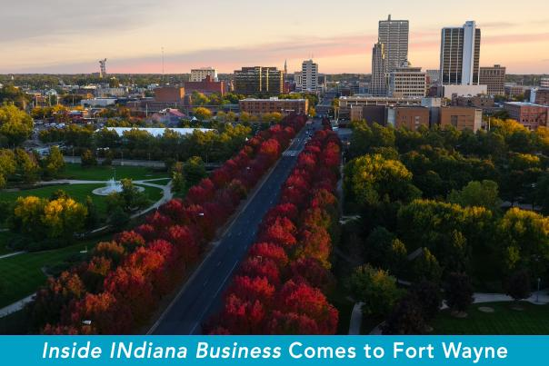 Inside Indiana Business - Road Show in Fort Wayne - Graphic
