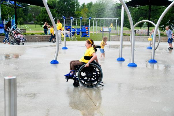 Taylor's Dream Boundless Playground - Fort Wayne, Indiana