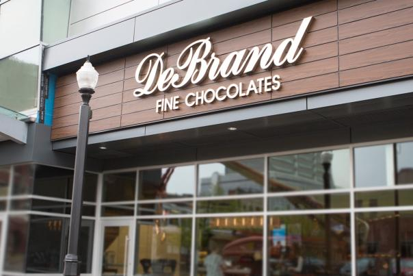 New DeBrand Fine Chocolates Downtown Location