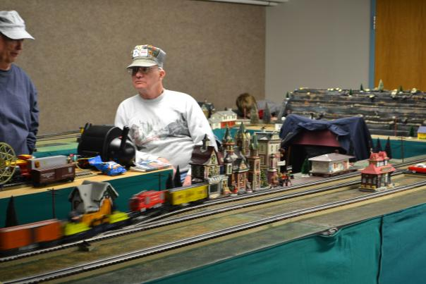 Train Set and Conductor