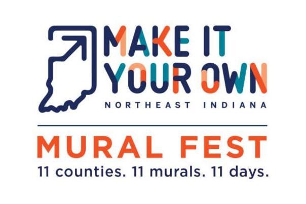 Make It Your Own Mural Fest logo