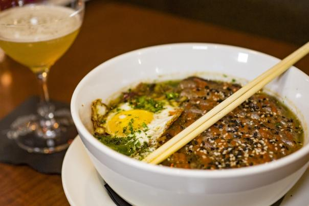Ramen at Chop's Wine Bar