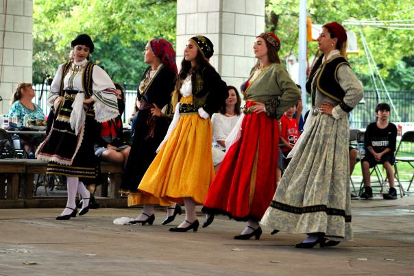 Dancers at GreekFest