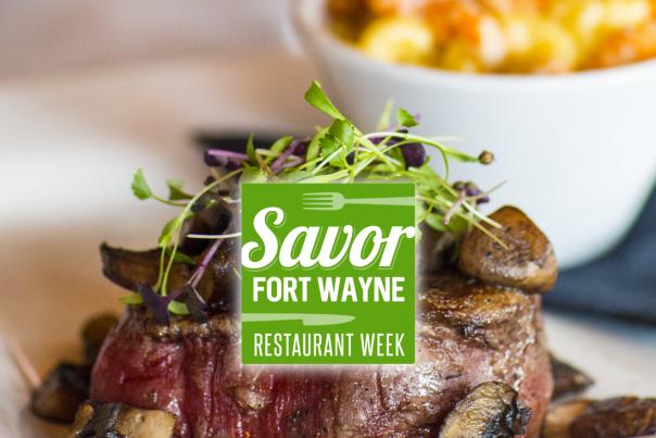 Savor Fort Wayne 2018 Logo Header