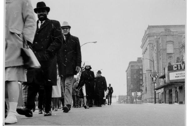 Civil Rights Movement March in Fort Wayne