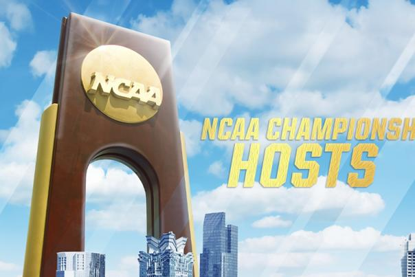 NCAA Championship Hosts - 2020 Announcement