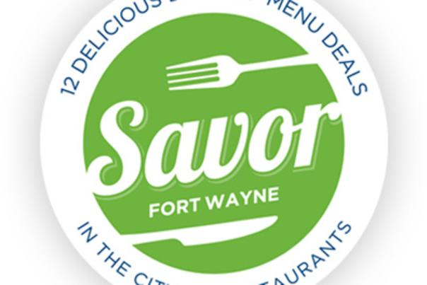 Savor Fort Wayne Logo Shadow