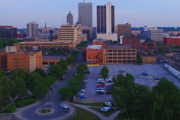 Copy of Downtown Fort Wayne Skyline from the Riverfront