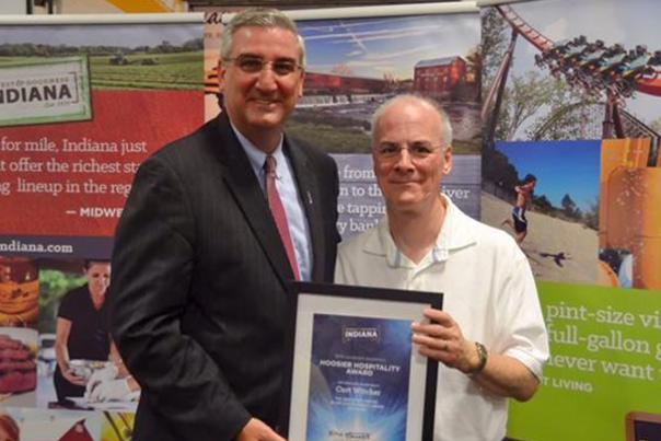 Curt Witcher Earns 2016 Hoosier Hospitality Award