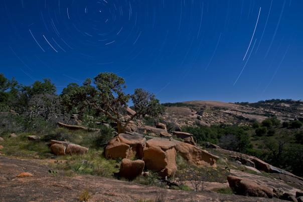 Enchanted Rock Night Skies