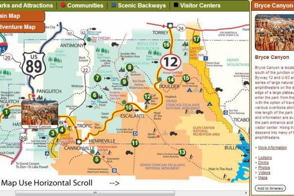 Bryce Canyon Itinerary
