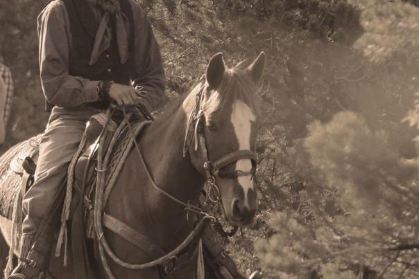 Outlaw-Horseback