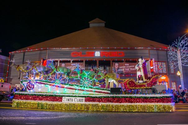 2018 Fantasy of Lights Christmas Parade-Gatlinburg-Presented-Ole Red