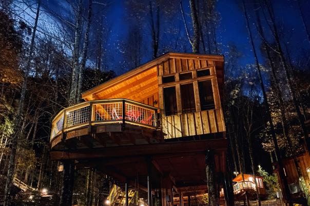 Unique Lodging at Treehouse Grove