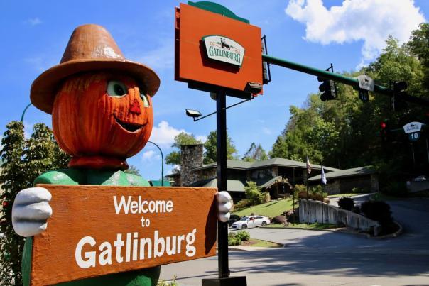 Welcome Scarecrow Gatlinburg
