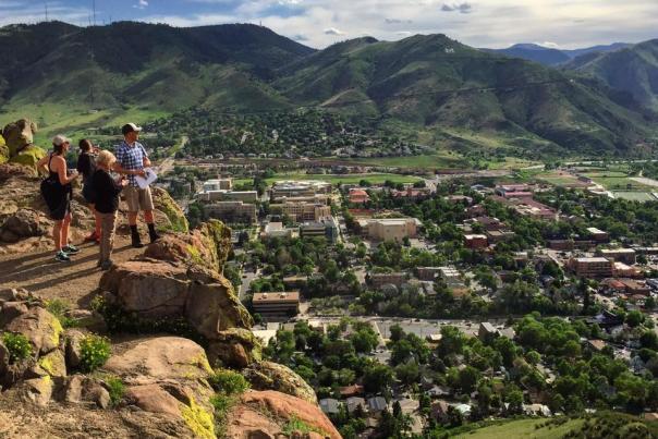 HikingGoldenOverlook