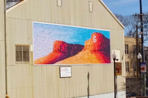 GURA Mural by Jesse Crock