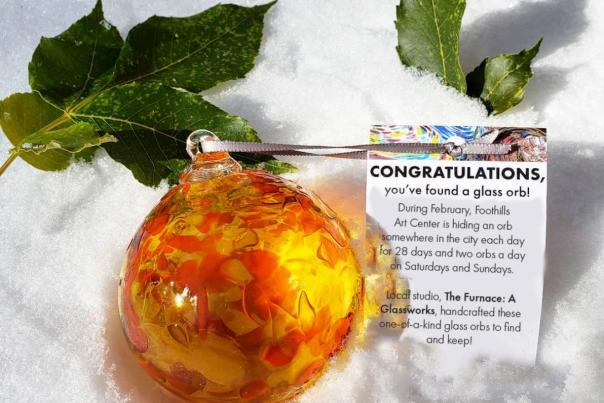 Winter - Glass Orb