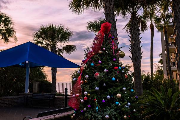 Christmastime on the Georgia Coast is filled with festive events and joyful decorations