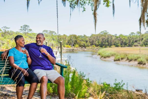 The Lodge on Little St. Simons Island provides guests with so many opportunities to unwind and relax.