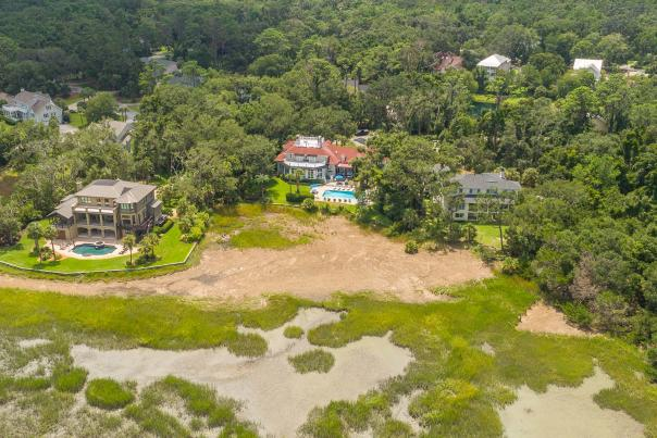 One of many luxurious vacation rental homes available on St. Simons Island, GA
