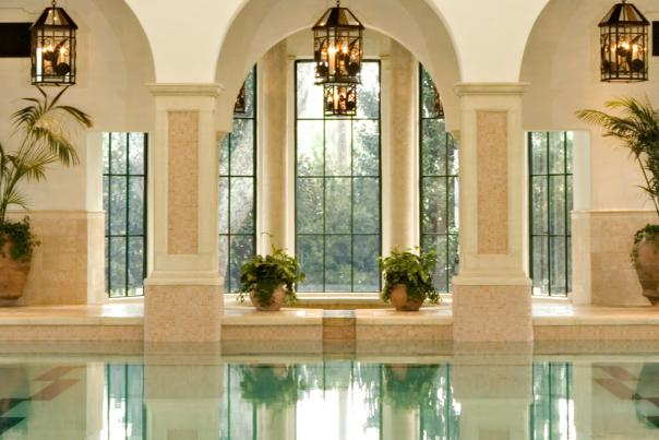 Guests enjoy a day of pampering at the Sea Island Spa on St Simons Island