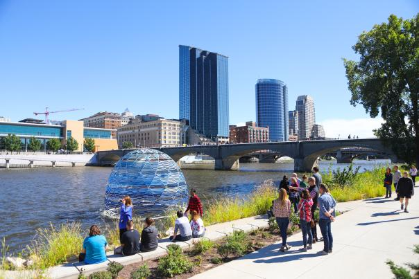 Harvest Dome 3.0 by SLO Architecture at ArtPrize 2018