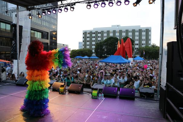 """Grand Rapids Pride Festival's theme for 2019 is """"Proud to Be."""""""