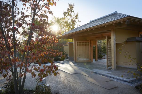 The Richard & Helen DeVos Japanese Garden - Entrance