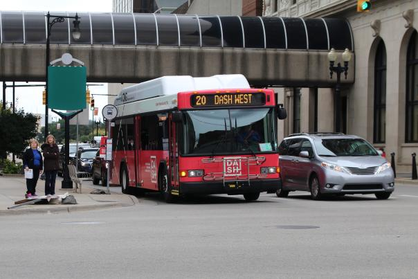 Fact: All stops along the DASH routes are visited every eight minutes