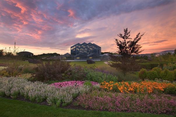 Sunset at Frederik Meijer Garden's & Sculpture Park