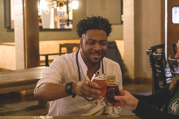 Beer City Eats Host AB