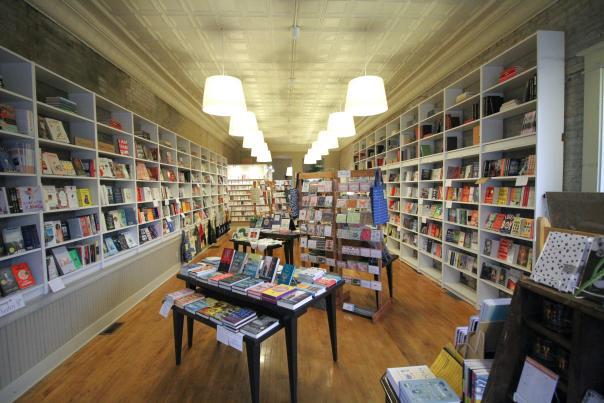 Books & Mortar interior