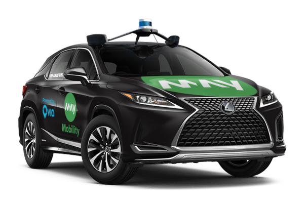 May Mobility Self Driving car