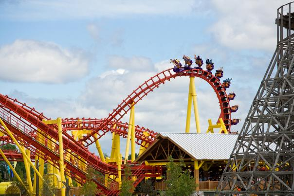Michigan's Adventure Rollercoaster