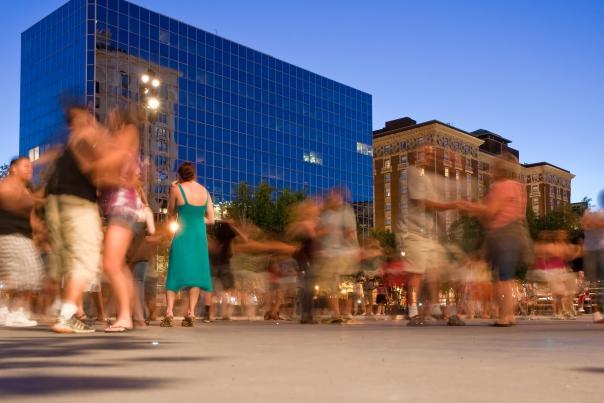 Events - Rosa Park Circle Swing Dancing