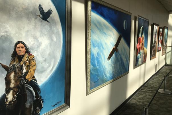 Paul Collins Retrospective Art Show on display in DeVos Place®