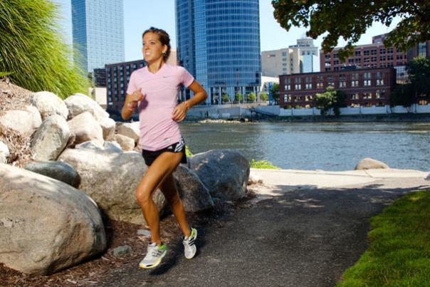 Runners in Grand Rapids