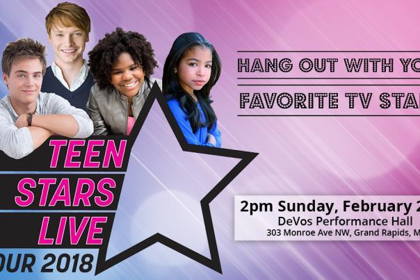 Teen Stars Live to bring Disney TV stars to SMG-managed DeVos Performance Hall