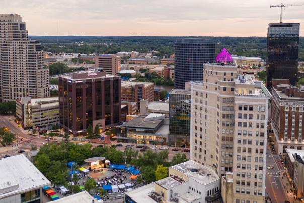 Event in Downtown Grand Rapids