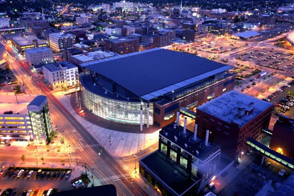 You can access venues like Van Andel Arena from the DASH West route.