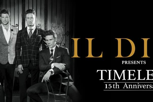 """Il Divo Announces All New North American Dates of Global """"Timeless"""" Tour"""