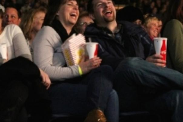 Audience Members at LaughFest's Best